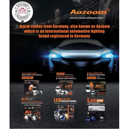 AOZOOM LED PROJECTOR / FOG LAMP PROJECTOR / LED HEADLIGHT