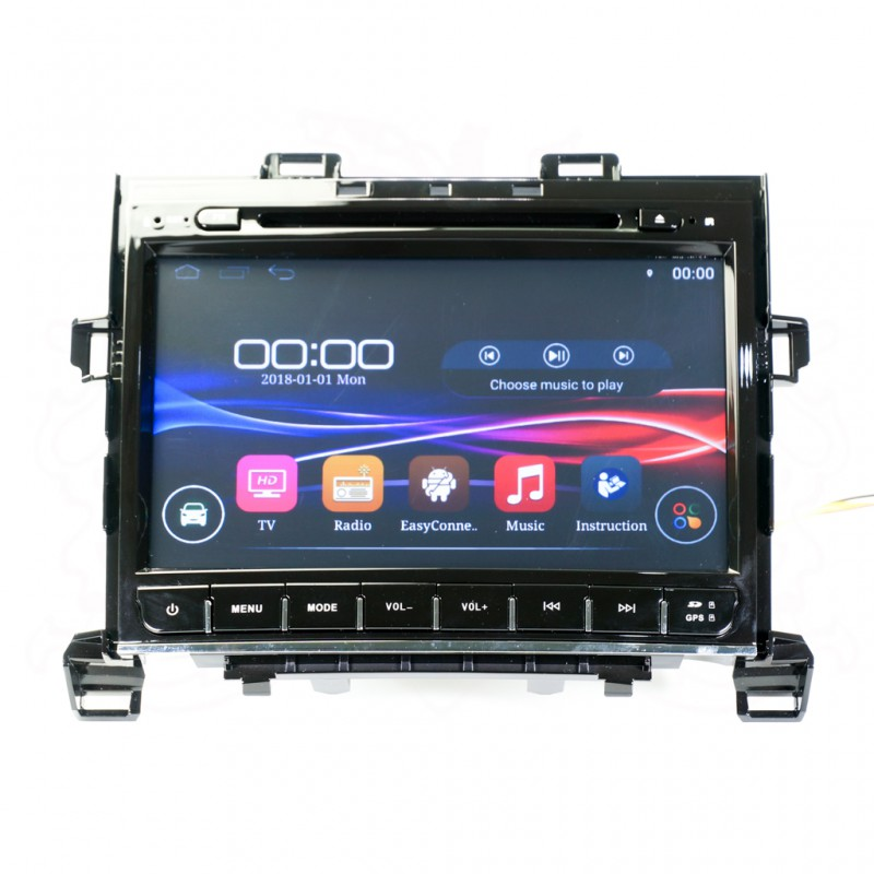 "P.BOX PB9208 9"" QUAD-CORE ANDROID PLAYER (TOYOTA VELFIRE 2009)"