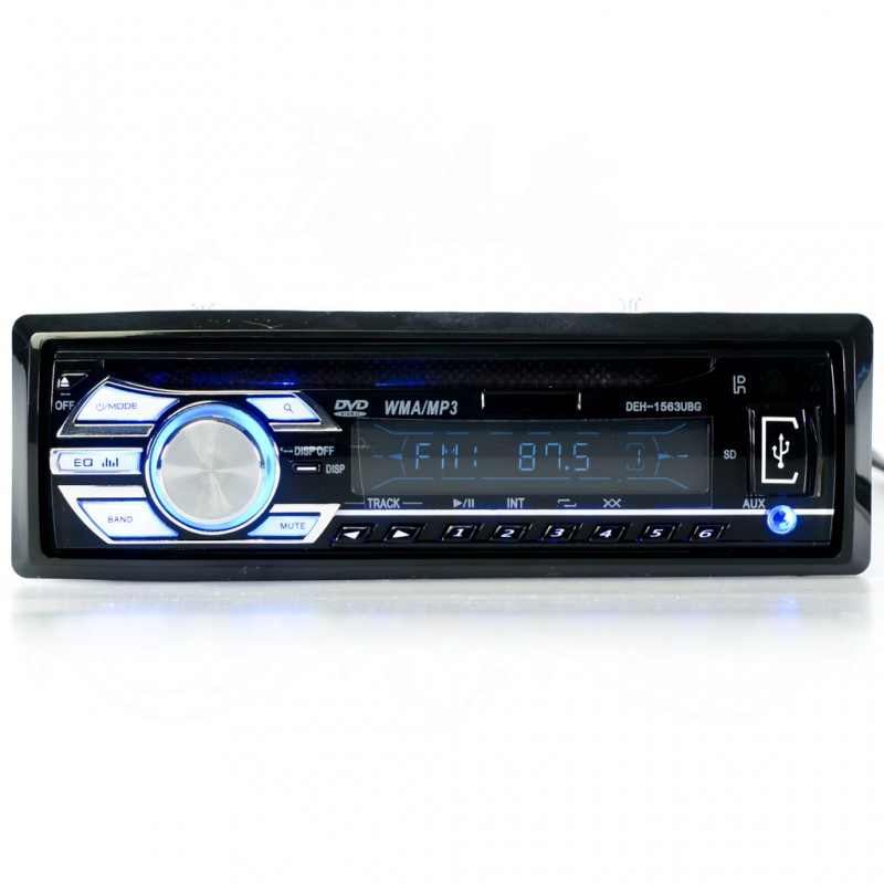 DEBEZT DEH-1563UBG DVD PLAYER (SINGLE DIN)