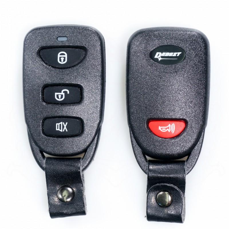 DEBEZT K-3062 CAR ALARM (FULL SET)