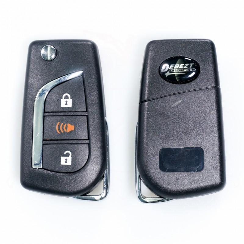 DEBEZT D-4312 CAR ALARM (FULL SET)