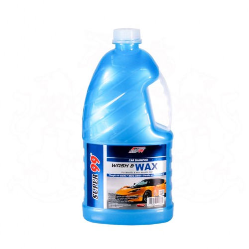 SUPER 99 CAR SHAMPOO WASH & WAX (2L)
