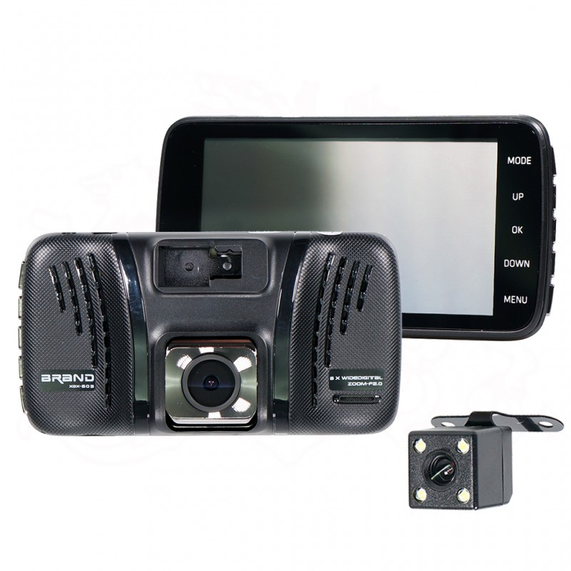 DEBEZT FHD6180 FRONT & REAR DVR RECORDER