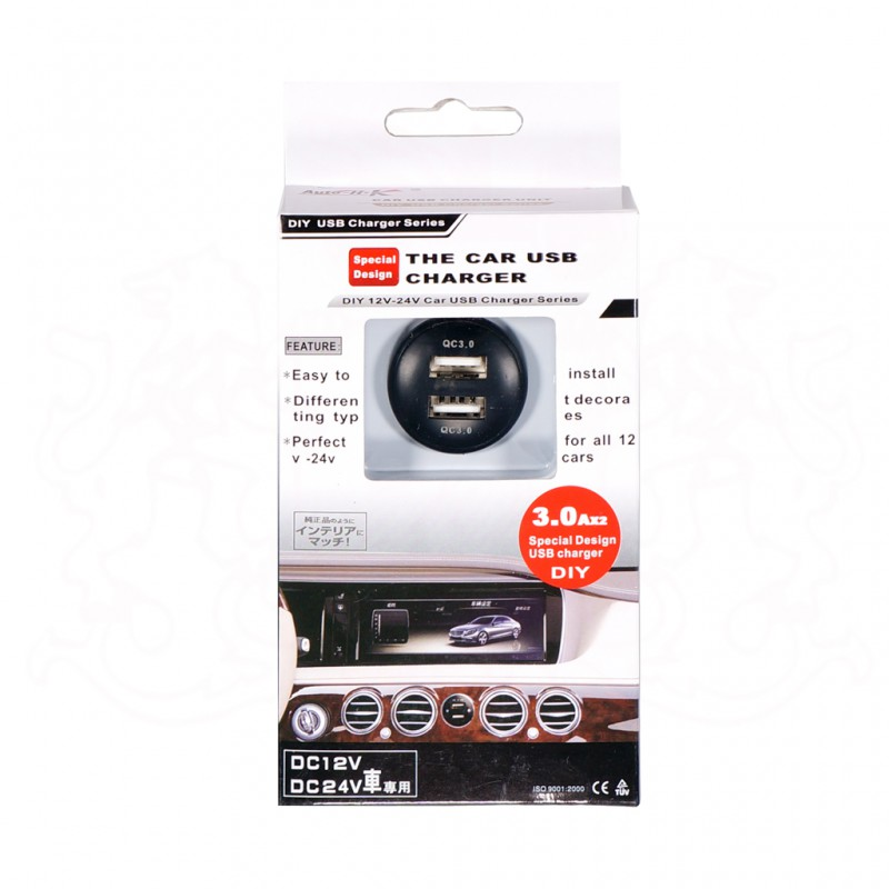 AUTO-HK A-811 3.0A USB CHARGER