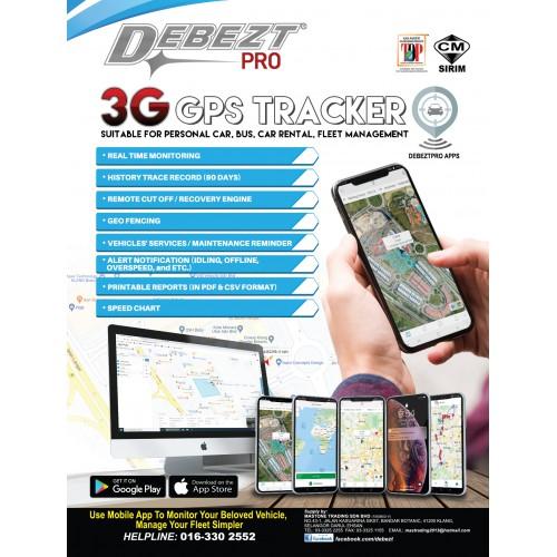 DEBEZT PRO DP3G-130 3G GPS TRACKER