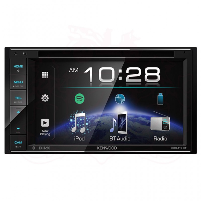 "KENWOOD DDX-419BT 6.2"" 2-DIN AV RECEIVER"