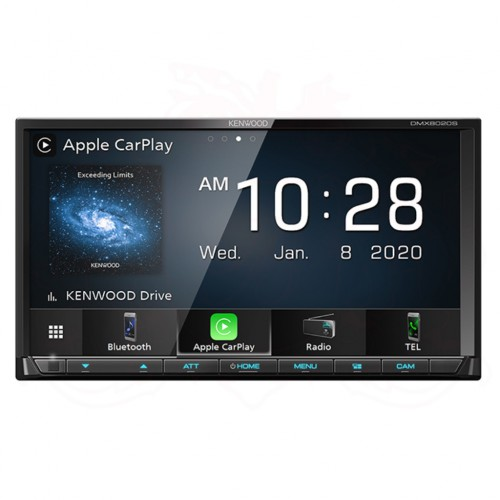 KENWOOD DMX8020S Digital Media Receiver with 7.0 Inch WVGA Display