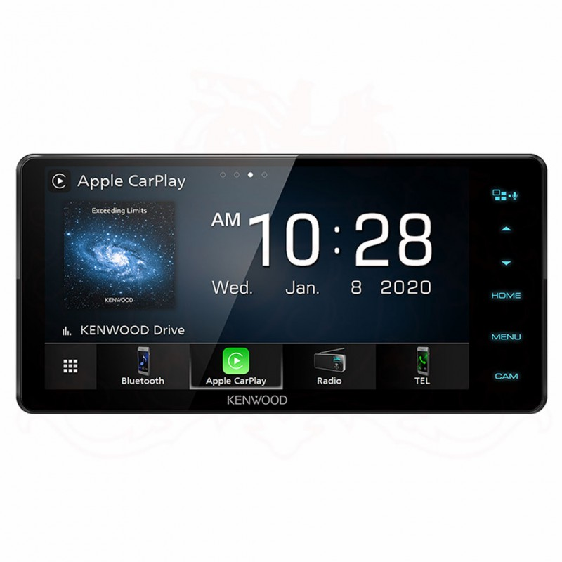 KENWOOD DDX820WS AV Receiver with 7.0 inch WVGA Display (Apple CarPlay & Android Auto) (200mm Wide Panel)