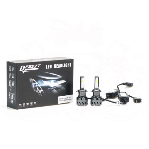 DEBEZT 3C LED HEAD LAMP (9006, H1, H3, H4, H7, H11)