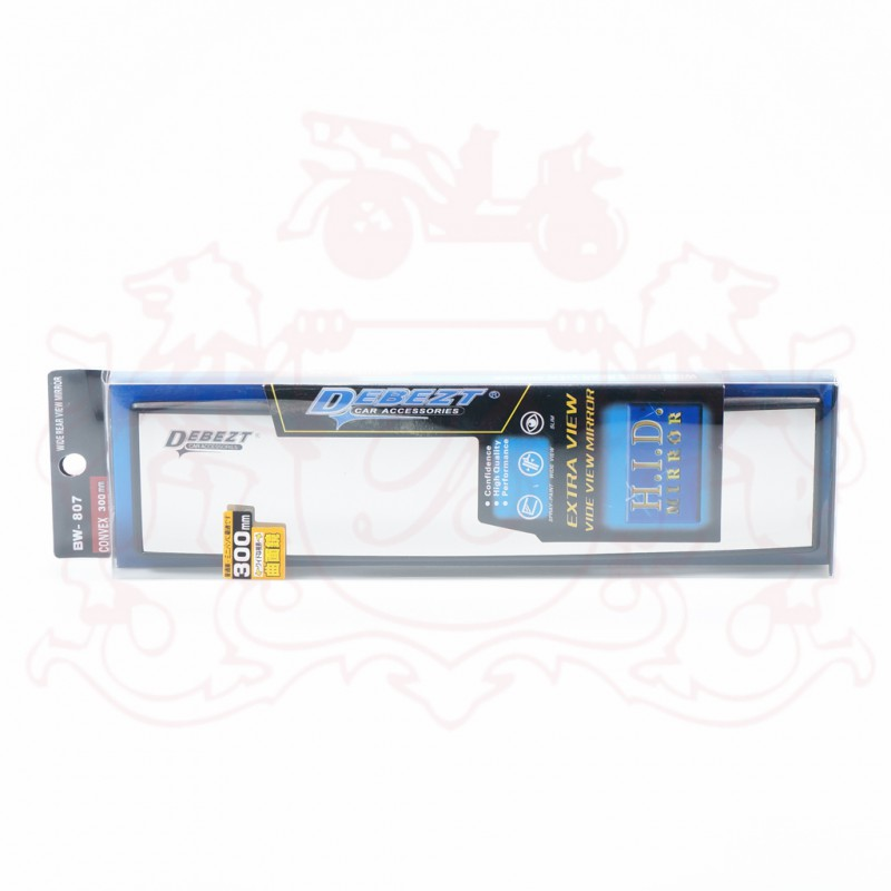 DEBEZT BW-807 (300MM) CONVEX ROOM MIRROR  (W)