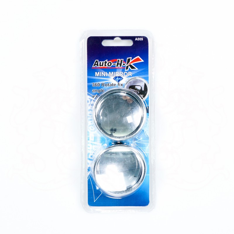 "AUTO-HK A009-211  2"" MINI MIRROR (CHROME)"