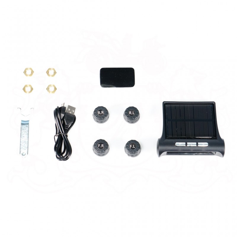 TPMS T88A SOLAR TIRE PRESSURE MONITORING SYSTEM