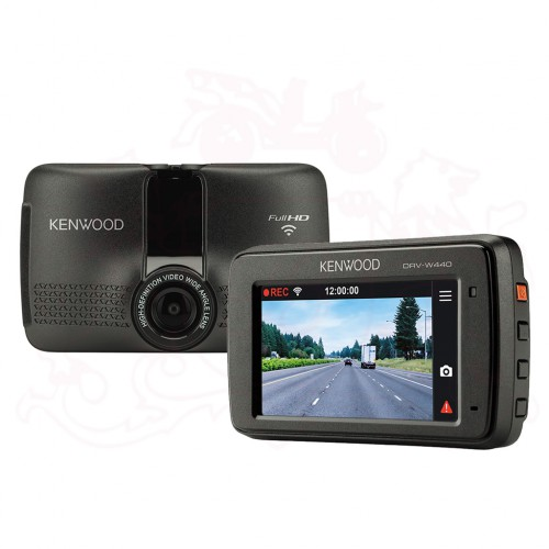 KENWOOD DRV-W440 CAR DVR DASH CAMERA WITH WIRELESS LAN & BUILT IN G-SENSOR